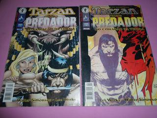 Hq Tarzan Versus Predador No Coração Da Terra Mini Completa