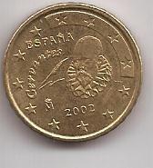 España Moneda De 10 Cents De Euro Año 2002 !!!