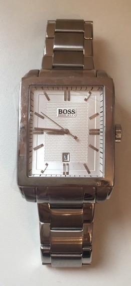Relógio Hugo Boss Pulseira De Aço - Novo - Original