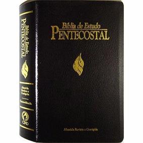 Bíblia De Estudo Pentecostal *frete Grátis*