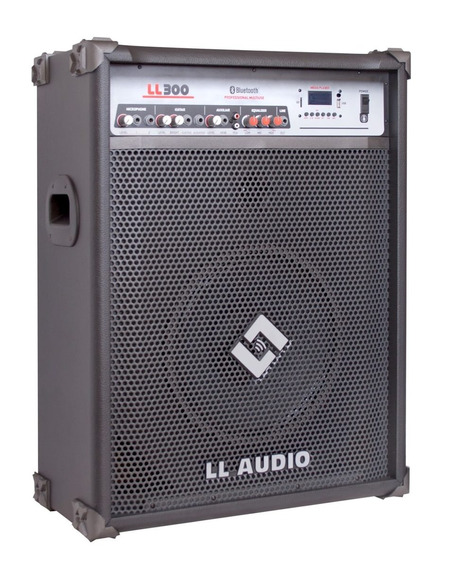 Caixa Amplificada Ll Ll300bt Bluetooth/usb/controle/sd/am/fm