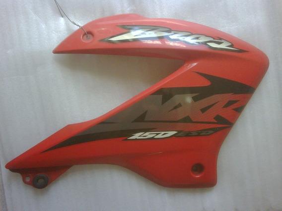 Carenagem Aba Tanque Honda Nxr150 Bros Vermelha 2005