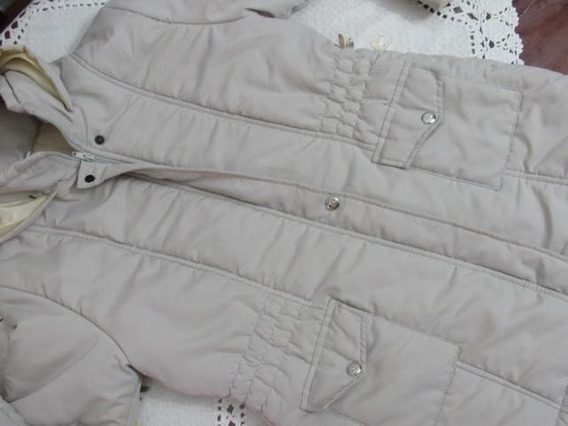Campera Inflable Impermeable Con Capucha T° 14