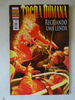 Tocha Humana Nº 1! Recriando A Lenda! Panini Set 2010!