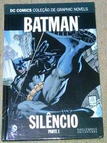 Coleção Graphic Novels Dc Comics Volume 1 Batman Silêncio