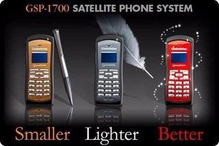 Telefone Móvel Satelital Gsp-1700 Ativação + 50 Min + Frete