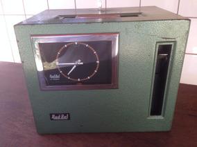 Relógio De Ponto Eletrico Rod-bel - Funcionando