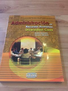 Administración De Recursos Humanos Diversidad - Caos.