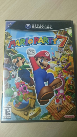 Mario Party 7 Original Game Cube Impecável