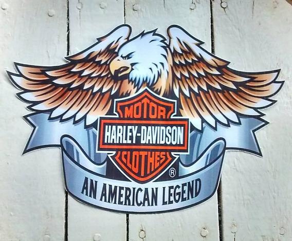 Patch Harley-davidson Grande Estampado 19cm X 28cm