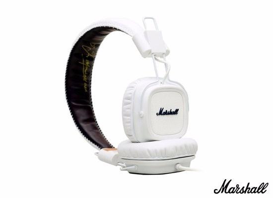 Fone Headphone Major Marshall Branco - Original Nota Fiscal