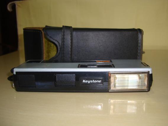 Câmera Antiga Keystone Pocket Everflash 110