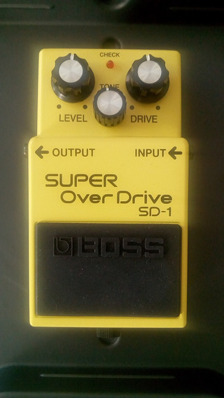 Pedal De Efeito Super Overdrive Sd-1