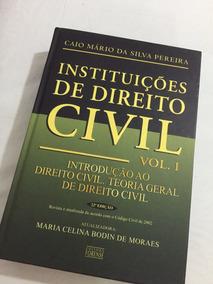 Direito Civil Caio Mário Da Silva Pereira
