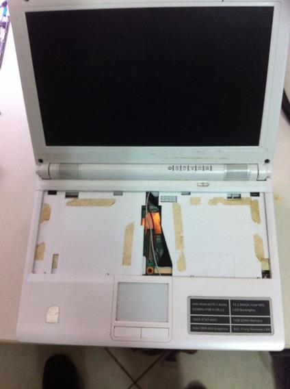 Netbook Canond Branco Em Peças