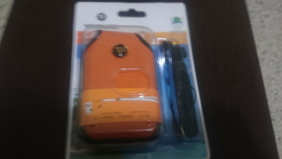 Forro Para Camara O Telefonos Vanguard Color Naranja