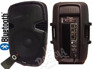 Bafle Potenciado 15 300rms Bluetooth Usb Canon Plug C.remot
