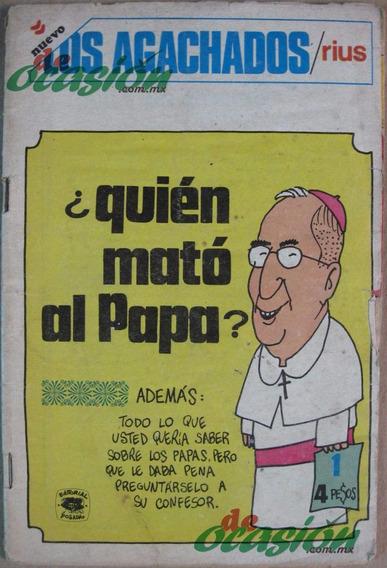 Cómic Los Agachados De Rius Núm. 1 (1978) Segunda Época