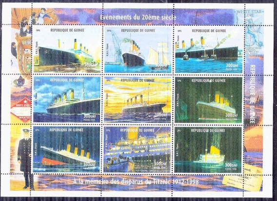 C@- Guinea - Barcos - Serie Completa Mint - Oferta Ya !!!