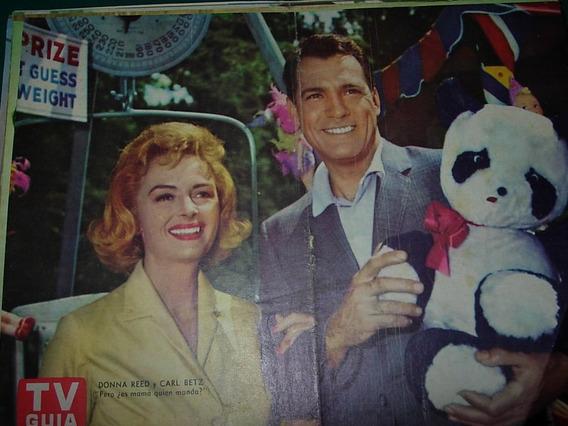 Donna Reed Carl Betz Mama Poster Original Tv Guia Television