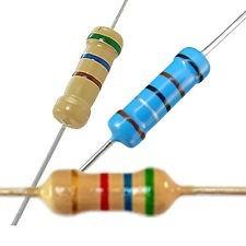 100pçs * Resistor 1k 1/4w -bq (frete Brasil R$12,00)