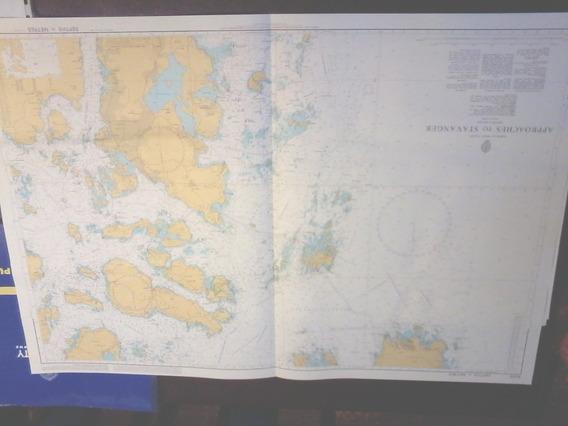 Carta Nautica Noruega Stavanger