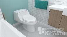 Moderno Sanitario/wc Tanque Bajo 69x43x55 Cm