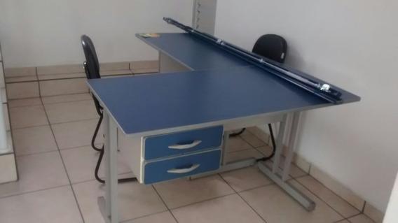 Conjunto De Mesa De Escritório Cadeira Computador