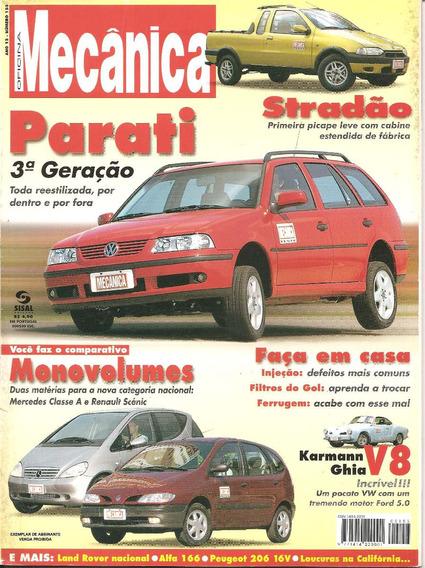 Revista Oficina Mecânica Nº153 - Parati G3 - Strada