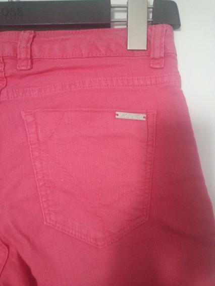 Pantalon Kenneth Cole T 26 Color Chicle Impecable!!!