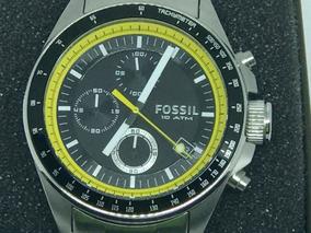 Relógio Fóssil Cronografo - Ch 2674 10atm Novissimo