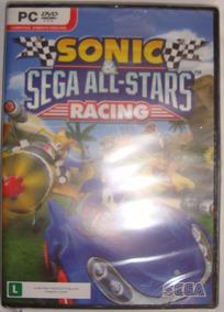 Pc Sonic Sega All Stars Racing- Novo- Original- Lacrado