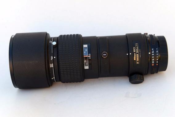 Lente Nikon Af 300mm F/4 Com Filtro Nikon Lc 37 82mm