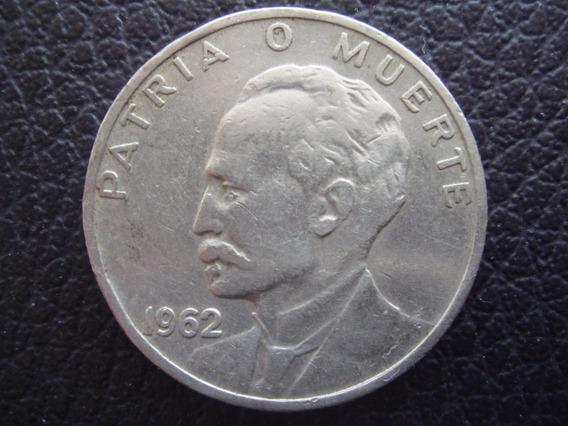 Cuba - Moneda De 20 Centavos José Marti , Año 1962 - M/b
