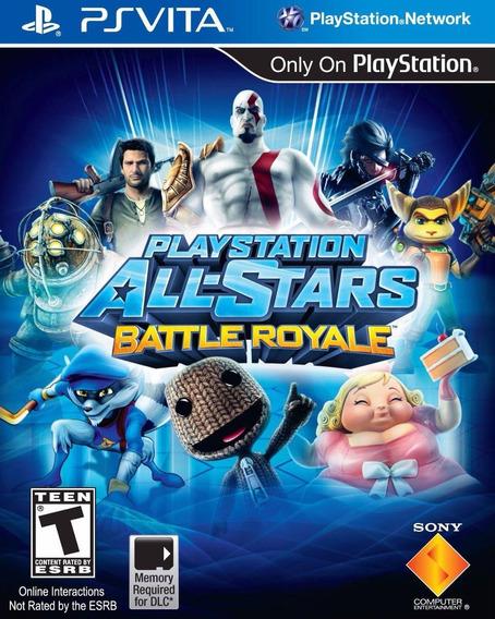 Playstation All Stars Battle Royale - Ps Vita