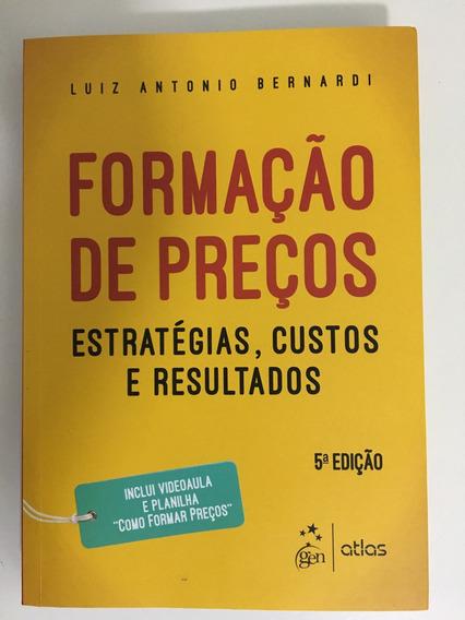 Livro Formação De Preços - Luiz Antonio Bernardi
