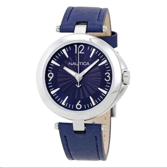 Relógio Nautica Original Nlc 105 Dark Blue - Imperdível!