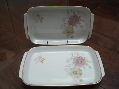 Lote De Dos Copetineros De Porcelana