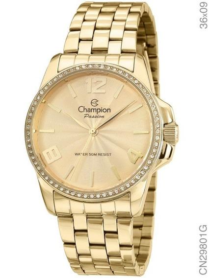 Relogio Champion Cn29801g - Feminino Original C/ Nota Fiscal
