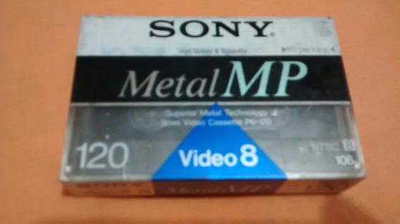Fita Super 8 Sony Metal Mp 120 Ntsc Rara Lacrada