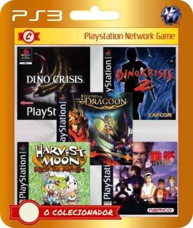 Dino Crisis 1+2, Harvest Moon, Tekken 2 Dragoon (ps3)