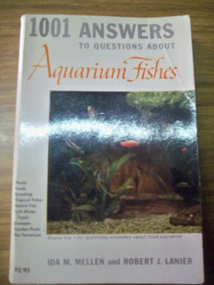 Libro En Ingles Aquarium Fishes - 1001 Ansewers To Questions