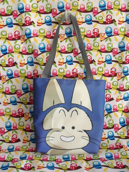 Mini Tote Bag Cartera De Anime Dragon Ball: Puar