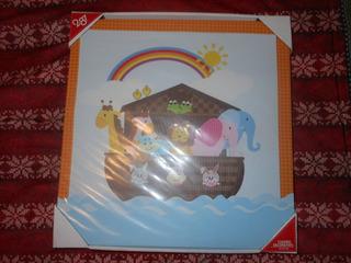 Cuadro Decorativo Infantil Arca De Noe