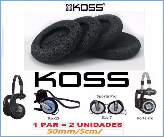 Espuma Do Fone Kos S Porta Pro 2 Unidades Id1983