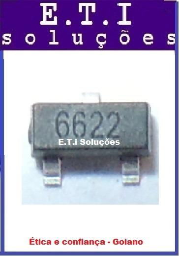Ci Regulador 3.3v   Regulador Smd 3v3 Sot-23 Pct C/ 8 Novo