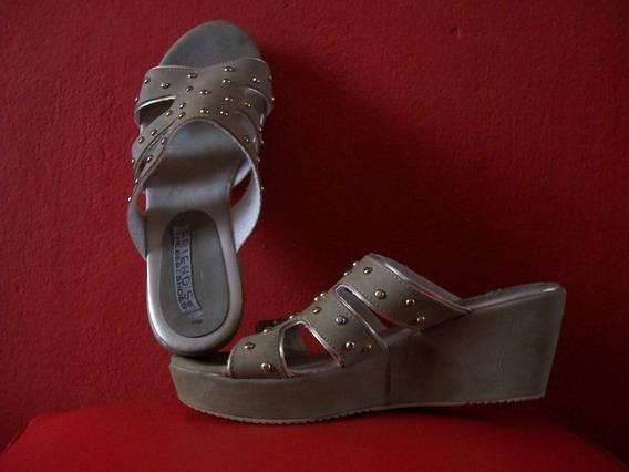 Zuecos Sandalias Chatitas Zapatos Usados Mujer Tachitas