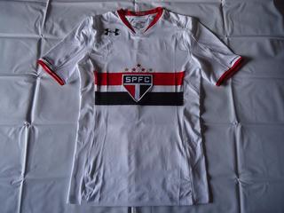 Camisa São Paulo Authentic Branca 2015 # 23 T. Mendes
