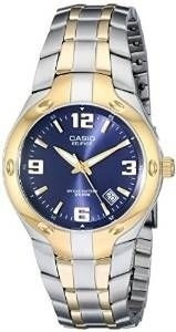 Casio Masculino Ef106sg-2av Edifice Two-tone Stainless...