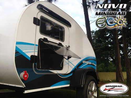 Imagem 1 de 14 de Mini Trailer Motorhome Casa  Rodante Miniroad Eco